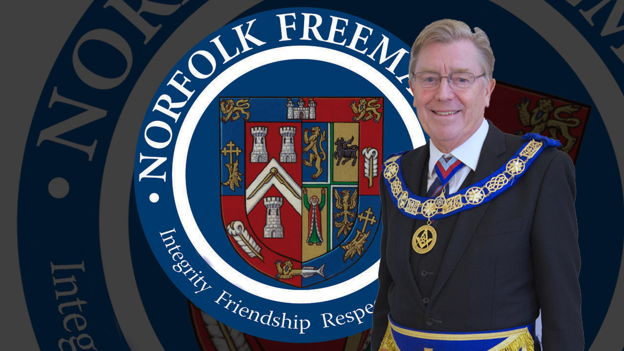 Notice of continuing Suspension of all Norfolk Masonic Meetings until 17th May.